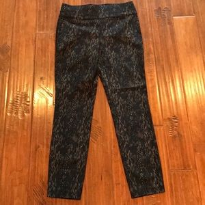 Style & Co Snake Print Ankle Pants